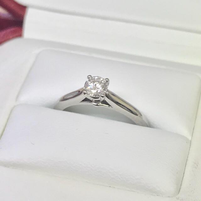 Cartier(カルティエ)の専用  カルティエ ダイヤリング  0.21ct  4号  ソリテール レディースのアクセサリー(リング(指輪))の商品写真