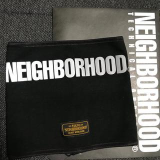 ネイバーフッド(NEIGHBORHOOD)のNEIGHBORHOOD BELT-DRIVE ネックウォーマー 黒(ネックウォーマー)