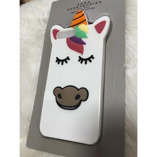 ザラ(ZARA)のZara スマホケース iPhone plus カバー ユニコーン 新品未開封♡(iPhoneケース)