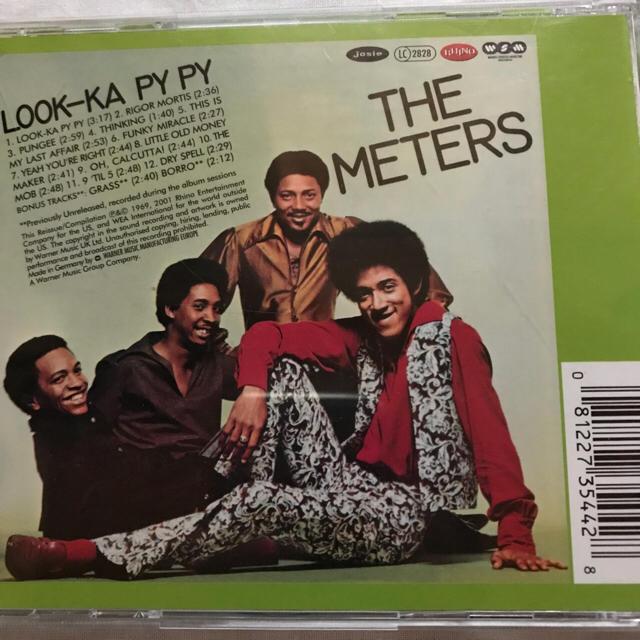 THE METERS LOOK-KA PY PY エンタメ/ホビーのCD(R&B/ソウル)の商品写真