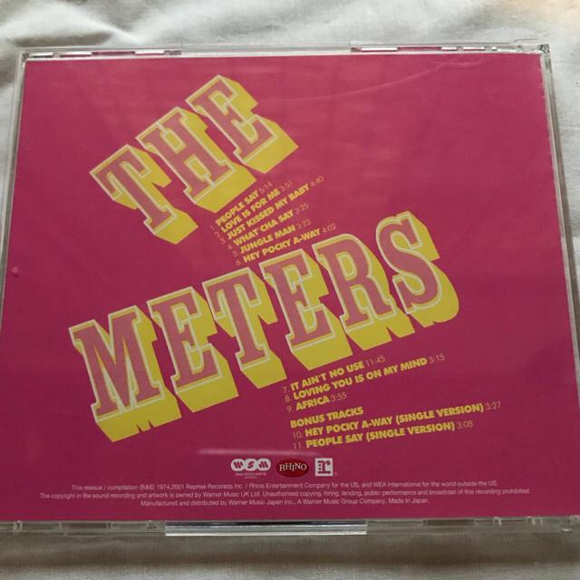 THE METERS REJUVENATION エンタメ/ホビーのCD(R&B/ソウル)の商品写真