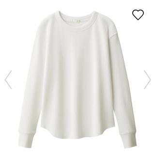 ジーユー(GU)のGU  ワッフルT   X L(Tシャツ(長袖/七分))
