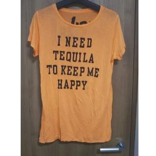 シェル(Cher)の新品  レーヨン素材 ロゴ入りTシャツ(Tシャツ(半袖/袖なし))