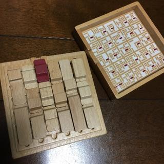 ムジルシリョウヒン(MUJI (無印良品))のカーパークパズル(知育玩具)