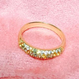 ポンテヴェキオ(PonteVecchio)のゆずみかん様専用ポンテヴェキオ K18 グリーンダイヤ、サファイア、ダイヤリング(リング(指輪))