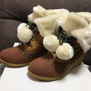 アシナガオジサン(あしながおじさん)の靴(ブーティ)