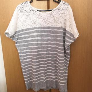 イッカ(ikka)のボーダー (Tシャツ(半袖/袖なし))