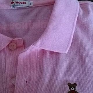 ミキハウス(mikihouse)の値下げ ミキハウス半袖ポロシャツ 試着のみ(ポロシャツ)