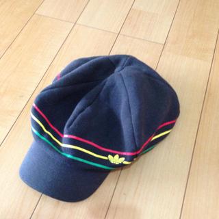 アディダス(adidas)のアディダス帽子(ハンチング/ベレー帽)