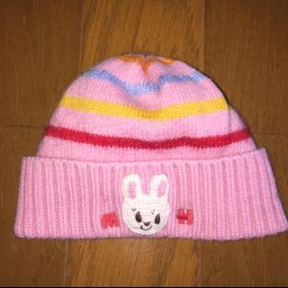 ミキハウス(mikihouse)の☆ミキハウス.帽子(ニット帽)☆(帽子)