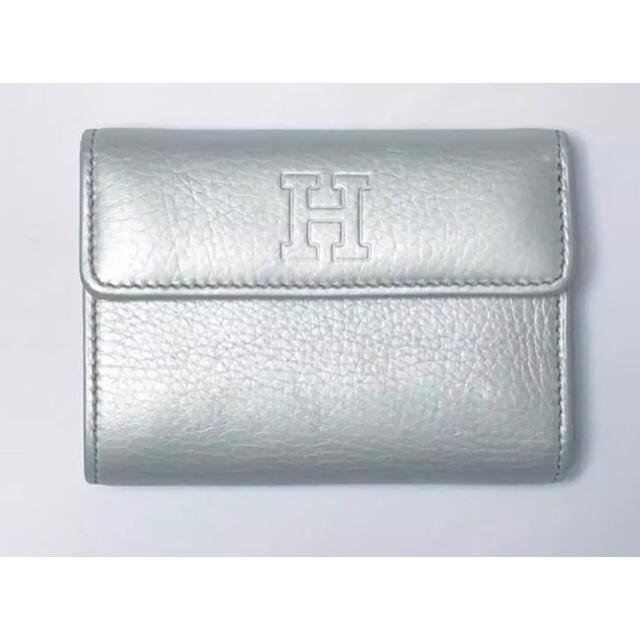 e251ff233a2b chikoha様 専用 HIROFU ヒロフ 財布 折りたたみ 中古 とても美品 レディースのファッション小物(