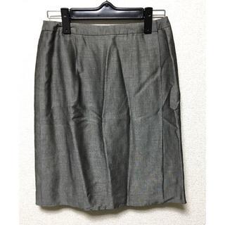 ニジュウサンク(23区)の23区*グレーシルバー膝丈スカート(ひざ丈スカート)