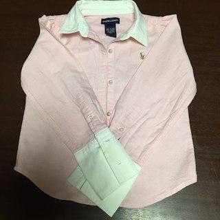 ラルフローレン(Ralph Lauren)のラルフローレン ピンクシャツ サイズ5(その他)