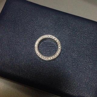 ジルコニア ホワイトゴールド リング 3号(リング(指輪))