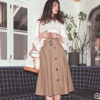 マイストラーダ(Mystrada)の深田恭子さん着用♡mystrada トレンチスカート(ひざ丈スカート)