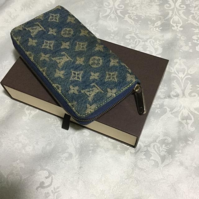 a60968b27915 LOUIS VUITTON(ルイヴィトン)のルイヴィトン ジッピーウォレット デニム 青 メンズのファッション