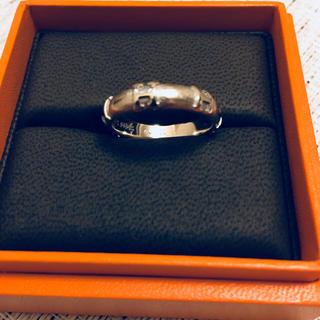 エルメス(Hermes)のエルメス リング 指輪 k18 WG ホワイトゴールド 14号(リング(指輪))