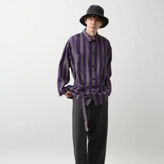 ハレ(HARE)のROBERT GELLER Collaboration/belt coat(シャツ)