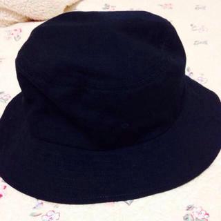 ムジルシリョウヒン(MUJI (無印良品))のバケットハット(ハンチング/ベレー帽)