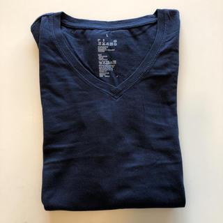 ムジルシリョウヒン(MUJI (無印良品))のVネック ロングTシャツ(Tシャツ(長袖/七分))