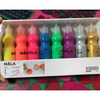 イケア(IKEA)のIKEA MALA 蛍光絵の具 新品未使用(絵の具/ポスターカラー )