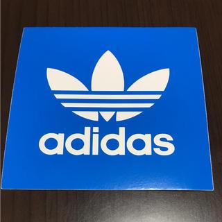 アディダス(adidas)の【縦7.5cm横7.5cm】adidas   ステッカー (ステッカー)