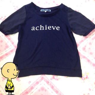 ジエンポリアム(THE EMPORIUM)のTHEEMPORIUM袖シフォンPO♡(Tシャツ(半袖/袖なし))