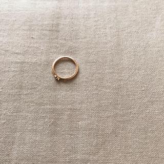 ノジェス(NOJESS)のNOJESSピンクゴールドのピンキーリング(リング(指輪))