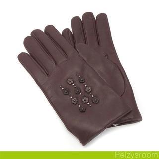 コーチ(COACH)の【タグ付き】COACH(コーチ)レザー手袋(手袋)