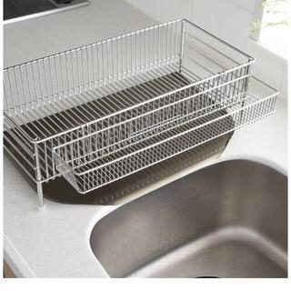 【momo様専用】ラバーゼ la base 水切りかご 縦置き スリム(収納/キッチン雑貨)