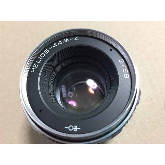 レア helios 44m 4 58mm f2 シルバー 42マウントの通販 by maharo s