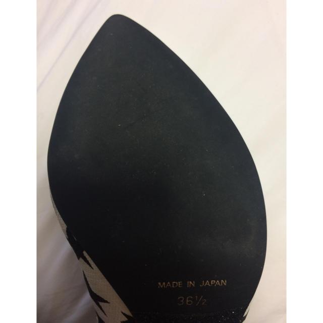 Le Talon(ルタロン)のゆー様専用 スターパンプス36.5 レディースの靴/シューズ(ハイヒール/パンプス)の商品写真