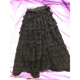 ピーチジョン(PEACH JOHN)のPJ  チュールワンピースにもロングスカートにもなるスカート(ロングスカート)