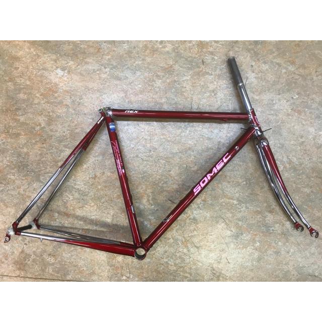 イタリア ソメック レックス クロモリロードフレーム 515mm ハンドメイド スポーツ/アウトドアの自転車(自転車本体)の商品写真