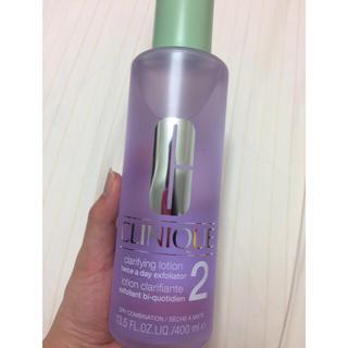 クリニーク(CLINIQUE)の新品未使用☆クリニーク 拭き取り化粧水(化粧水/ローション)