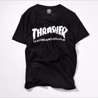 アンドバイピーアンドディー(&byP&D)のスラッシャー Tシャツ 黒(Tシャツ/カットソー(半袖/袖なし))
