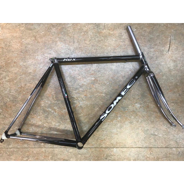イタリア ソメック レックス クロモリロードフレーム 540mm ハンドメイド スポーツ/アウトドアの自転車(自転車本体)の商品写真