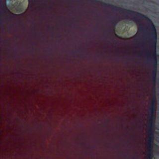 イルビゾンテ(IL BISONTE)の赤レザーキーケース 正規 イル ビゾンテ4連 水濡あり(その他)