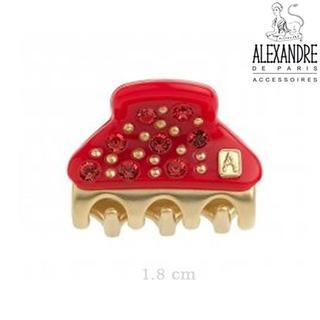 アレクサンドルドゥパリ(Alexandre de Paris)の専用3個セット♪新品♪Alexandre de Paris♪miniクリップ(バレッタ/ヘアクリップ)