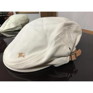 バーバリー(BURBERRY)の新品Burberry 未使用ハンチング(ハンチング/ベレー帽)