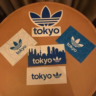 アディダス(adidas)のadidas originals ステッカー3枚とハガキ2枚のセット(シール)