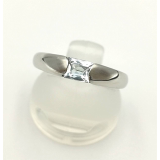 ヨンドシー(4℃)の4℃ ブルーストーンリング 9.5号 PT950(リング(指輪))