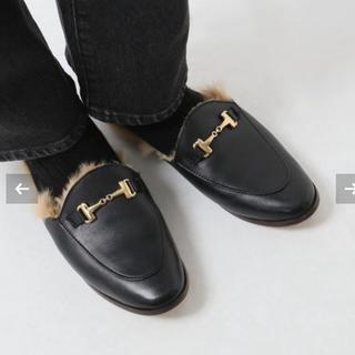 ドゥーズィエムクラス(DEUXIEME CLASSE)のDeuxieme Classe CAMINANDO BIT FUR◆38(ローファー/革靴)