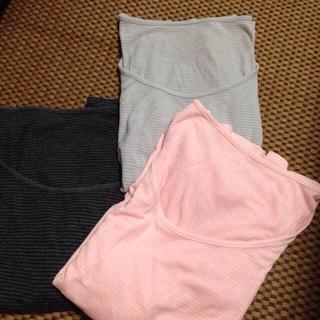 ジーユー(GU)のあったかスタイル(Tシャツ(長袖/七分))