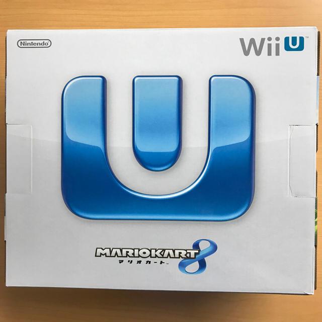 Wii U(ウィーユー)のWii U マリオカート8 セット シロ 保証書無し 任天堂 エンタメ/ホビーのテレビゲーム(家庭用ゲーム本体)の商品写真