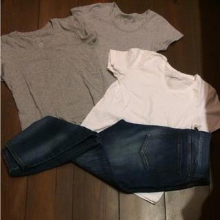ムジルシリョウヒン(MUJI (無印良品))の半袖Tシャツ(Tシャツ(半袖/袖なし))