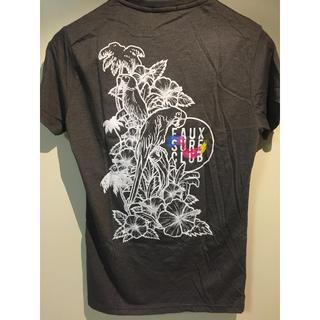 FRIEND OR FAUX(フレンドフォアフォアクス)バックプリント グレー(Tシャツ/カットソー(半袖/袖なし))