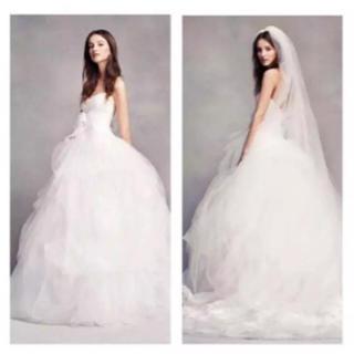 ヴェラウォン(Vera Wang)のWhitebyVERA WANGバレリーナウェディングドレス(ウェディングドレス)