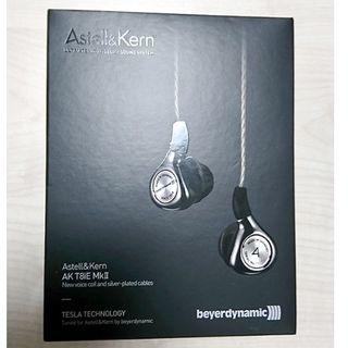 アイリバー(iriver)の新品同様 Astell&Kern AK T8iE MkII 国内正規保証付き(ヘッドフォン/イヤフォン)