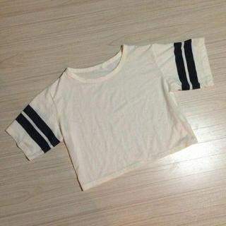 ジーユー(GU)のg.u トップス(Tシャツ(長袖/七分))
